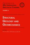 Structural Geology and Geomechanics Pdf/ePub eBook