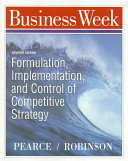 Formulation Implementation And Control Of Competitive Strategy