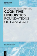 Cognitive Linguistics - Foundations of Language [Pdf/ePub] eBook
