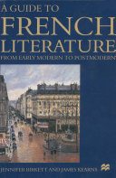 Pdf A Guide to French Literature Telecharger