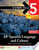 5 Steps to a 5  AP Spanish Language and Culture 2020 2021