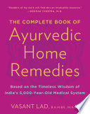 The Complete Book of Ayurvedic Home Remedies.epub