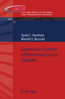 Geometric Control of Patterned Linear Systems