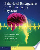 Behavioral Emergencies for the Emergency Physician Book