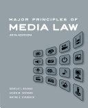 Major Principles of Media Law, 2016