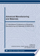 Advanced Manufacturing and Materials Book