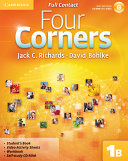 Four Corners Level 1 Full Contact B with Self study CD ROM