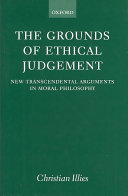 The Grounds of Ethical Judgement