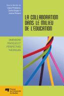 Pdf La collaboration dans le milieu de l'éducation Telecharger