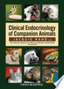 Clinical Endocrinology of Companion Animals Book