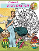Egg Coloring Books for Adults OSTRICH EGG DECOR