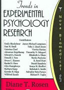Trends in Experimental Psychology Research
