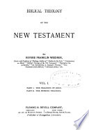 Biblical Theology Of The New Testament Book PDF