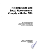 Helping State and Local Governments Comply with the ADA