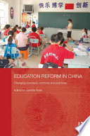 Education Reform in China