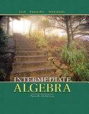 Intermediate Algebra [Pdf/ePub] eBook