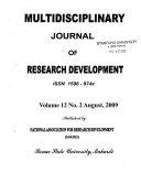 Multidisciplinary Journal of Research Development