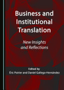 Business and Institutional Translation