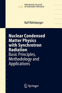 Nuclear Condensed Matter Physics with Synchrotron Radiation
