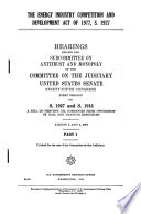 The Energy Industry Competition and Development Act of 1977  S  1927