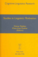 Studies in Linguistic Motivation