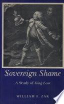 Sovereign Shame Book