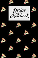 Recipe Notebook  Blank Cookbook with Recipe Cards for Family Recipes