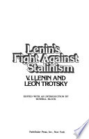 Lenin's fight against Stalinism