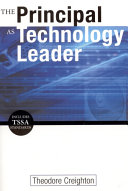 The Principal as Technology Leader