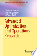 Advanced Optimization and Operations Research