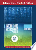 Cover of Intermediate Microeconomics with Calculus: A Modern Approach