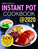 Instant Pot Cookbook  2020