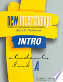 New Interchange Intro Student S Book A