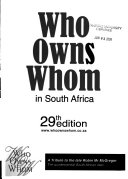 Who Owns Whom in South Africa