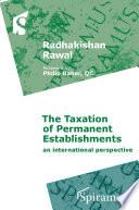 The Taxation Of Permanent Establishments