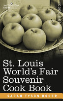 St. Louis World S Fair Souvenir Cook Book ebook