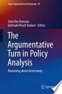 The Argumentative Turn in Policy Analysis Book