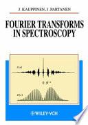 Fourier Transforms in Spectroscopy