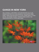 Gangs in New York Book