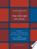 Logic  A History of its Central Concepts