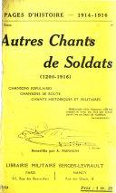 Pages d'histoire, 1914-1918