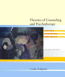 Theories Of Counseling And Psychotherapy PDF