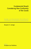 Fundamental Breach Considering Non-conformity of the Goods ebook