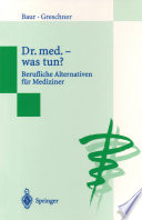 Dr. med. — was tun?