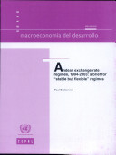Andean Exchange-rate Regimes, 1994-2003