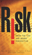 Risk From the CEO and Board Perspective: What All Managers ...