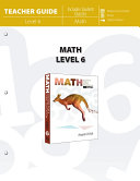 Math Level 6  Teacher Guide