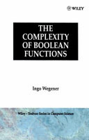 The Complexity of Boolean Functions