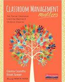 Classroom Management Matters
