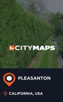 City Maps Pleasanton California  USA